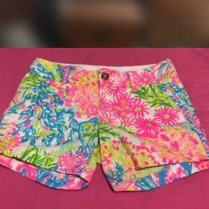Lily Pulitzer Callahan Shorts size 00